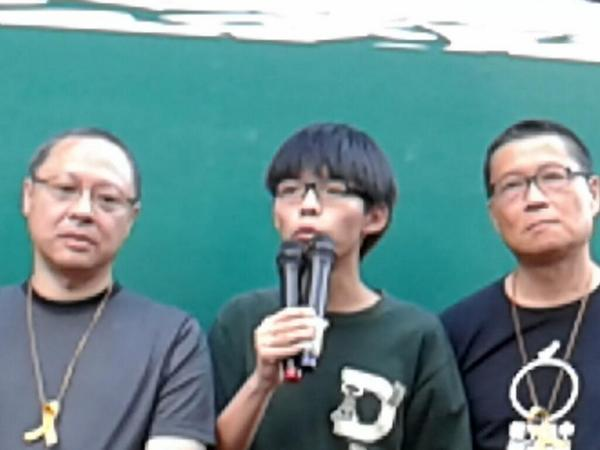 1726 Scholarism will call for a third class boycott if Fridays talks do not yield positive results. HongKong