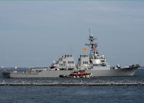 Guided-missile destroyer USS Cole to enter the Black Sea