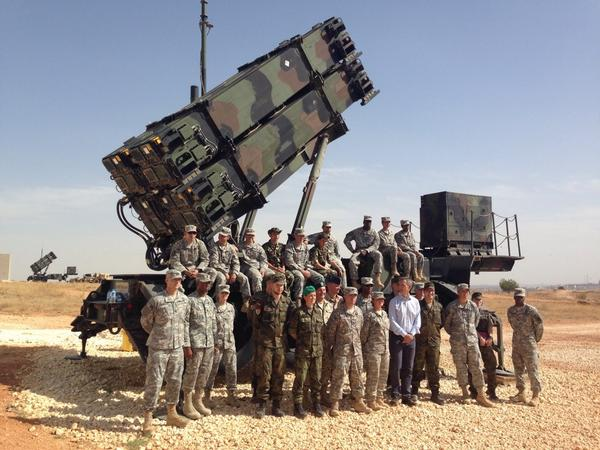 NATO SG @jensstoltenberg visited USarmy Patriot unit in Turkey @USNATO