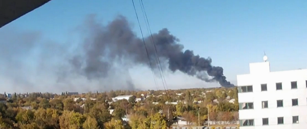 Shelling of Donetsk airport