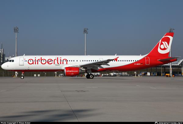 Air Berlin D-ABCK AB3161 has declared to emergency over France en-route to Düsseldorf