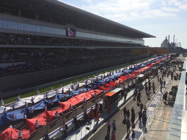 Sochi ready for Formula 1 GP