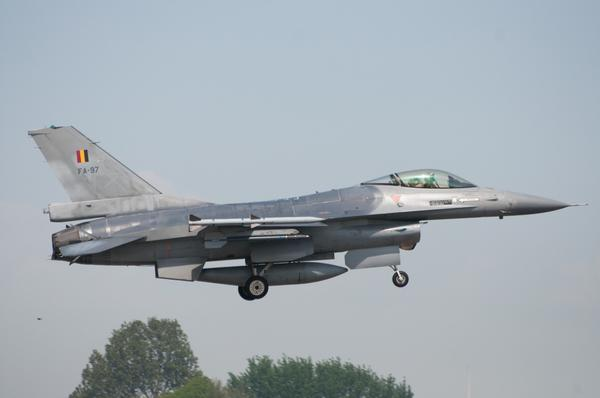 Belgian F-16 will Deploy to Poland