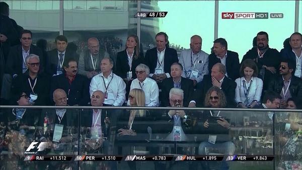 The Medvedchuk sits near Segal Grand Prix in Sochi Formula 1