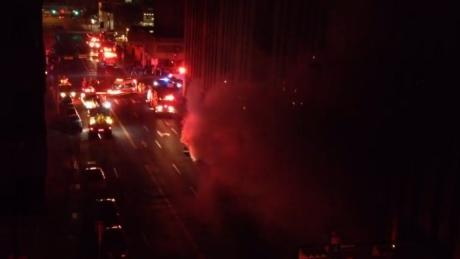 Downtown Calgary fire knocks out 911 service