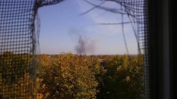 Shelling in Mariupol