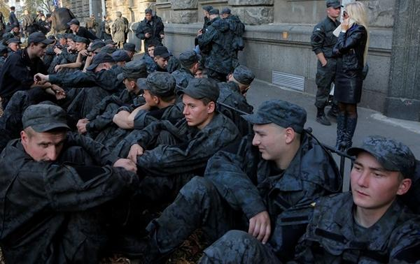 SBU accused in military protests under the administration of the President of the FSB