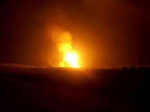 Near Al-Arīsh, Egypt. A natural gas pipeline explosion. Sinai