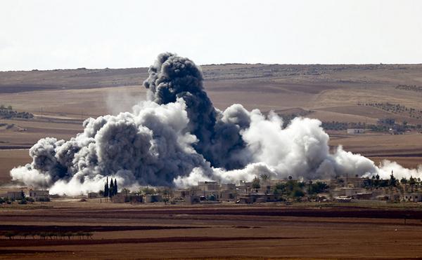 Airstrike on Kobane