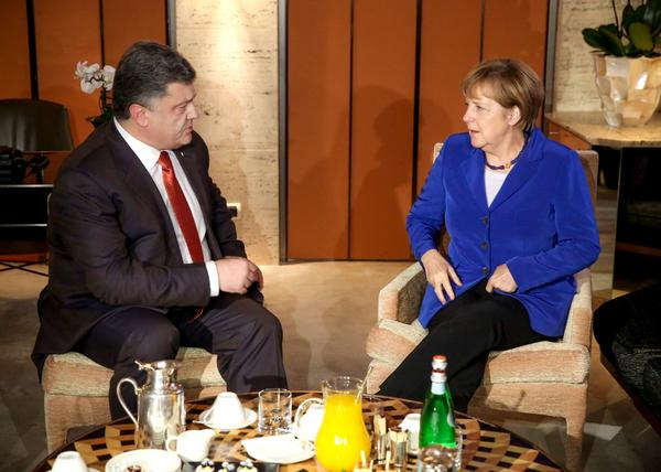 Poroshenko met with Federal Chancellor of Germany - Angela Merkel