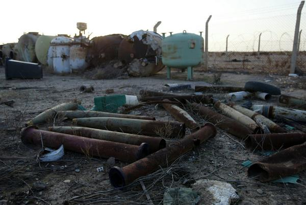 Photos of dead Kurdish fighters in Kobane suggest that they were exposed to chemical agents