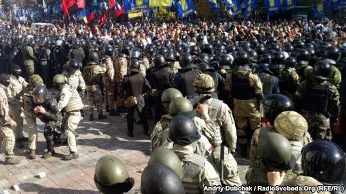 Arrested 12 members of clashes near the Verkhovna Rada - Avakov