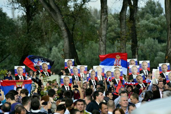 In Belgrade partake of one Putin, in Milan Porosjenko. To emphasize that this is a European conflict.