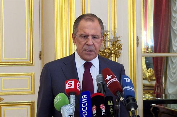 Sergey Lavrov speech at a news conference following talks with and FMs
