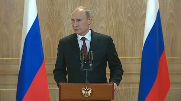 Vladimir Putin: Russia is helping Ukraine, so let European partners also something dare