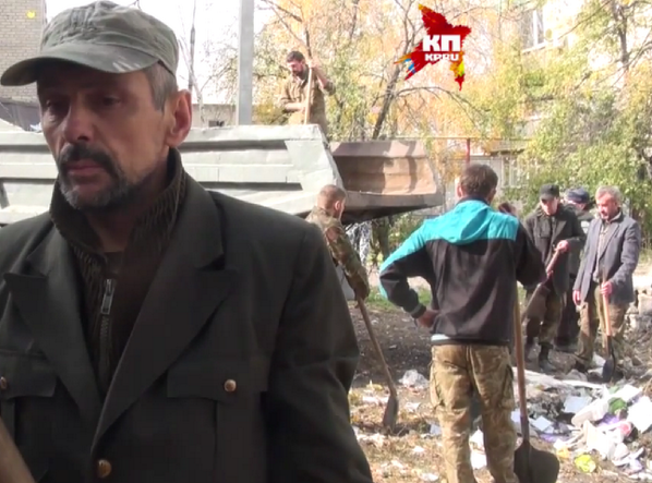 Ukr. hostages from Battalion Donbas in forced labor in Russian-occupied Illovaysk