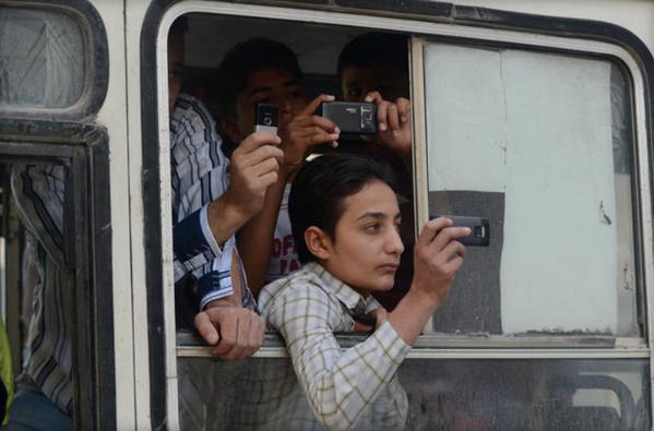 Syria activists organize 'Mobile Phone Film Festival'