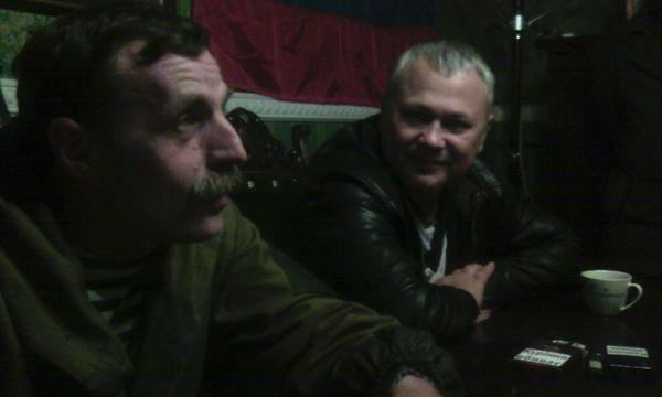 This is Bezler aka Bes in Horlivka 3 hours ago giving interview to Ukraine TV channel 1+1