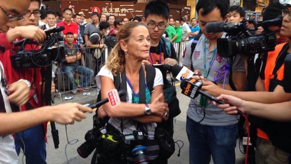 Reporter Paula Bronstein has been released