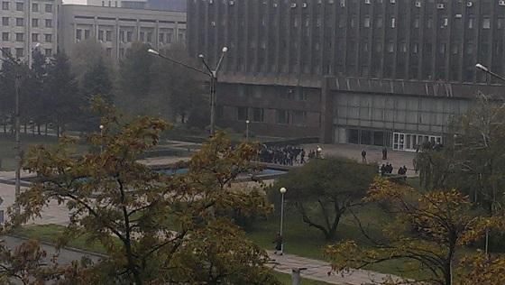 Right Sector rally near Zaporizhzhya regional state administratio