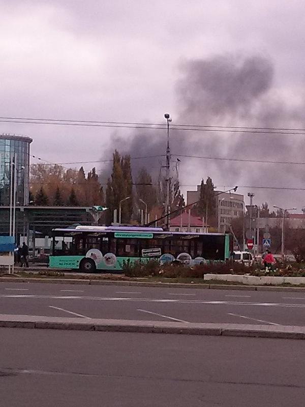 Donetsk view from railway station