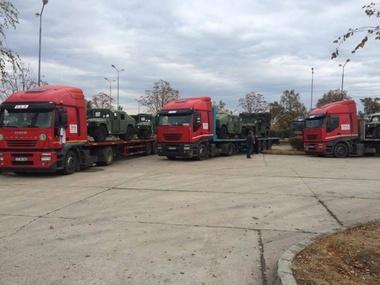 USA supply military humvees to Moldova
