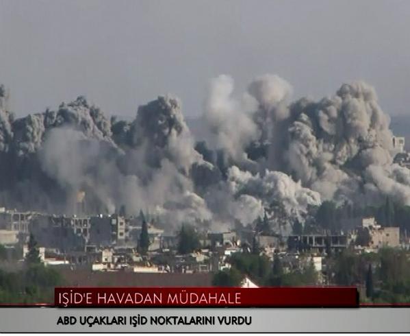 Planes striked Kobani