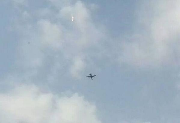 Jet over Fallujah recently