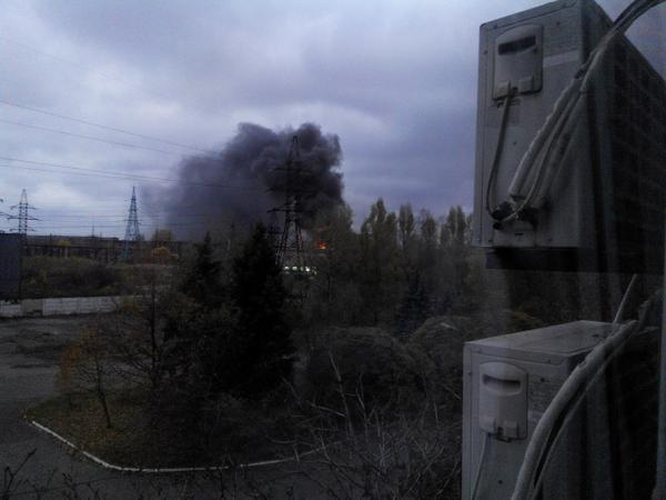 Shells hit substation in Donetsk