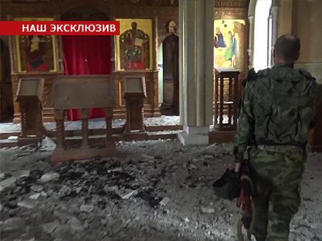 Shells hit Holy Iveron monastery in Donetsk