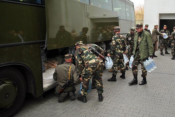 Police of Khmelnytsky went to zone ATO Zone