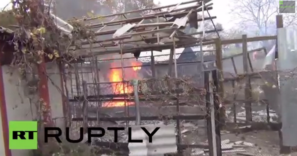 Shelling attack kills at least two in Donetsk