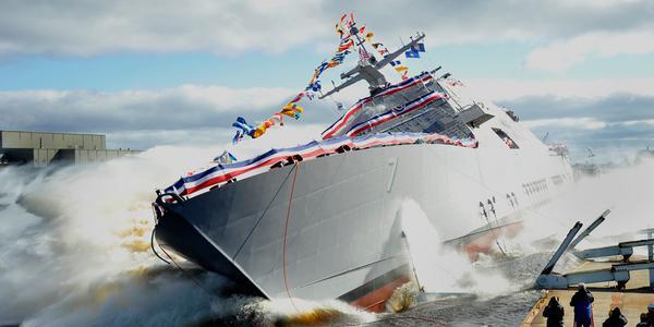 Lockheed Martin Launches Future USS Detroit
