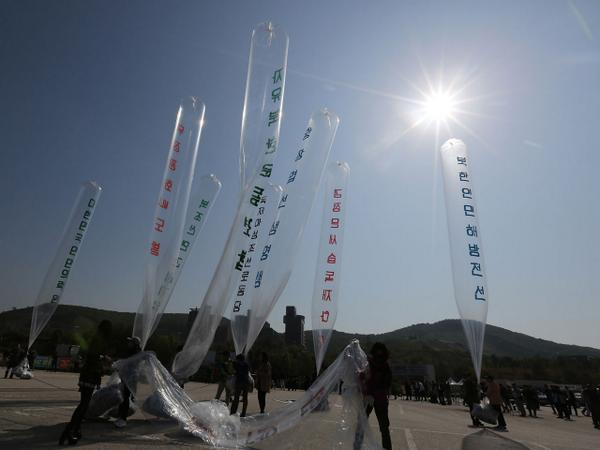 Anti-Kim Jong Un leaflets lead to exchange of gunfire along border between Koreas