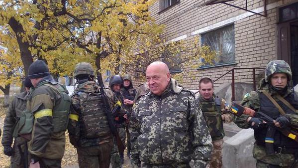 Ukrainian army freed Krymske from criminals of LNR - Moskal