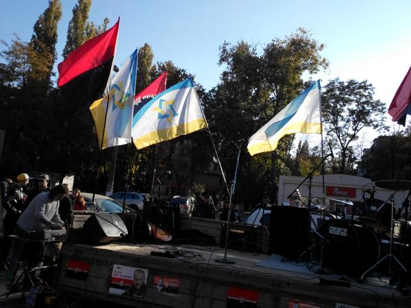 Joint charity concert of Right sector and Jewish community In Odessa  to help battalions