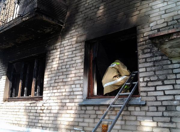 Three people were killed in the explosion at the five-storey building in Melitopol