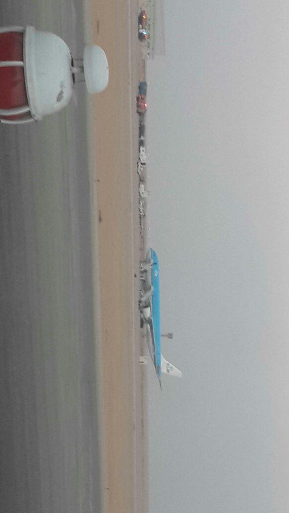 Bomb on board KLM flight in Cairo airport. Plane took to a remote area and trying to deactivate it