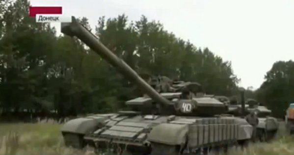 Russian state TV says, Battalion_Vostok prepares for battle in Donetsk