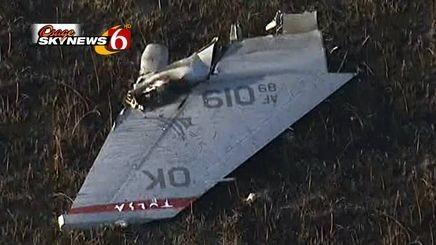 F-16C Blk 42 89-2019 125FS Oklahoma ANG lost in mid-air collision near Moline, Kansas. Other F-16 landed. Pilots safe