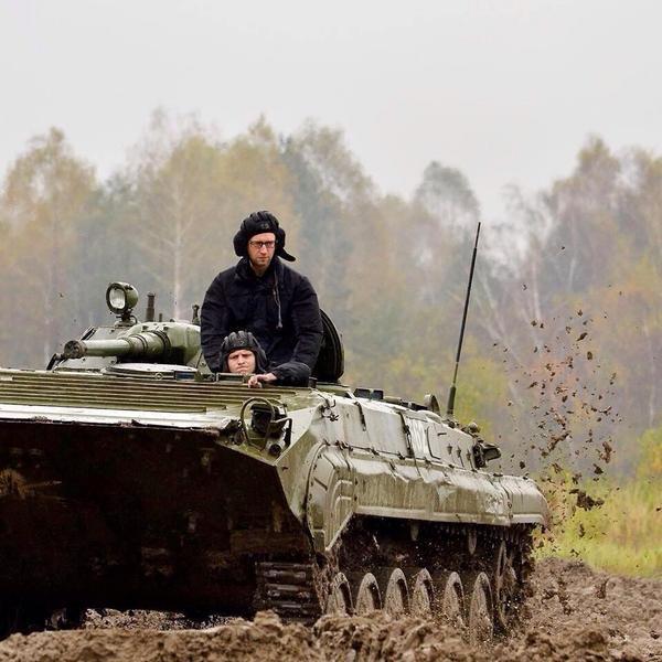 PM Yatsenyuk in APC