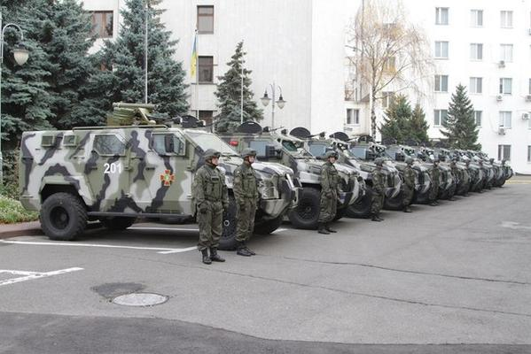 New armored vehicles KRAZ Spartan for Ukrainian army