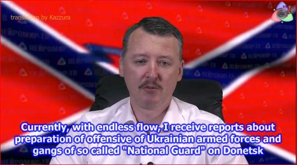 Strelkov warns about Ukraine defending itself and kicking Russia out