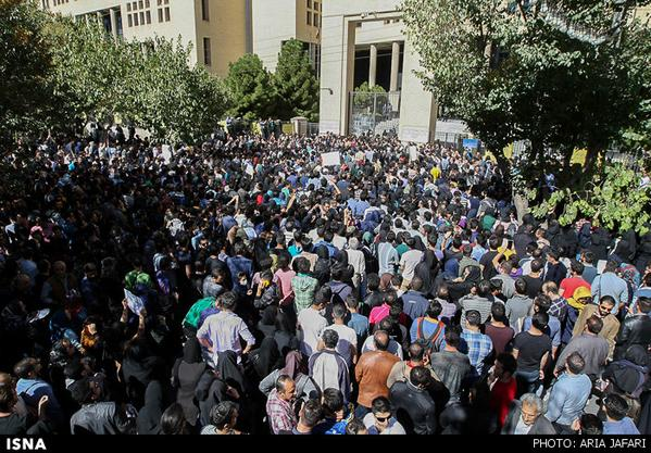 Protest in Isfahan city against recent spate of AcidAttacks on women