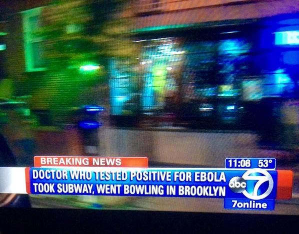 Ebola patient in NYC used subway