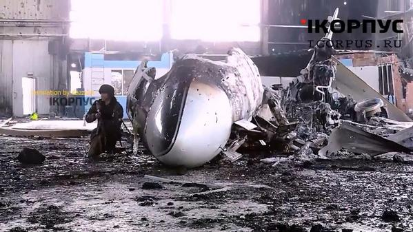 UR-CCC of CABI AIRLINES at the airport Donetsk is destroyed. Previously called as Akhmetov Plane