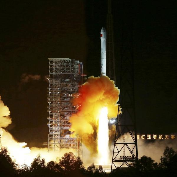 China launches unmanned spaceship to orbit the Moon