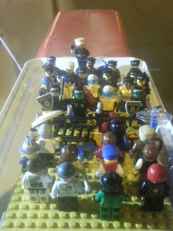 Occupy Hong Kong, the Lego set.