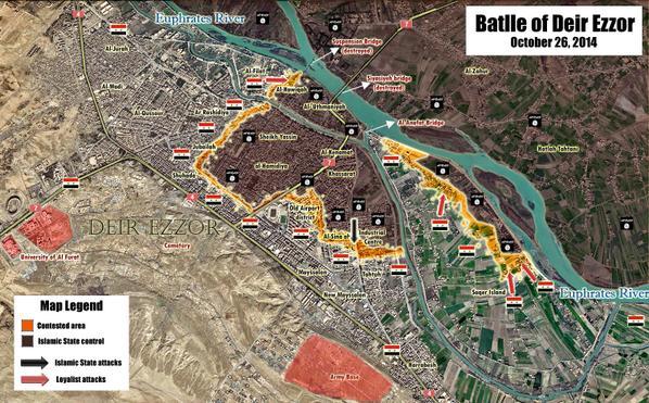 Map of Battle of Deir_Ezzor