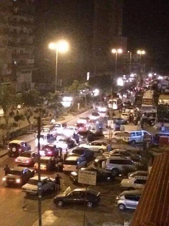 Mass exodus of people in TripoliLB